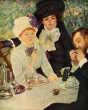 Lunch in the Garden', 1879, (1937).