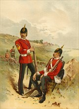 The 57th - Duke of Cambridge's Own (Middlesex)', 1890.