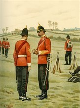 The 43rd - Oxfordshire Light Infantry', 1890.