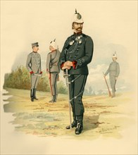 The 2nd Queen's Own Rifles (Canada)', 1890.