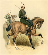 The Cape Mounted Rifles', 1890.