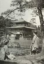Kinkakuji (The Golden Pavilion)', 1910.