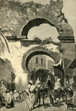 City Gate in Tunis', 1881.