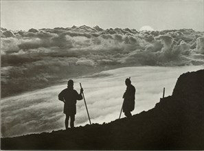 Sunset from the Summit of Fuji', 1910.