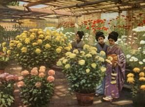 At the Chrysanthemum Show', 1910.