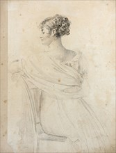 Portrait of Madame Récamier (1777-1849).