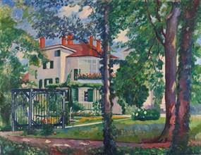 Villa Flora, Winterthur, 1912.