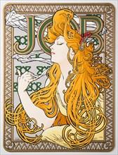 "Advertising Poster for the tissue paper ""Job"", 1897."