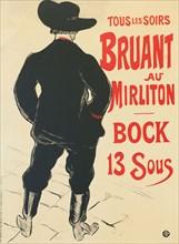 Bruant au Mirliton, 1893.