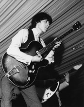 Rolling Stones - Bill Wyman, 4th National Jazz and Blues Festival, Richmond, London, 1964.