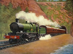 "The ""Cornish Riviera"" Express (Great Western Railway)', 1930."