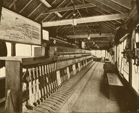 Electro-Mechanical Signal Cabin at Victoria, Southern Railway', 1930.