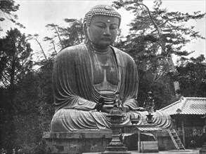The Great Daibutsu', Kamakura, Japan, 1895.