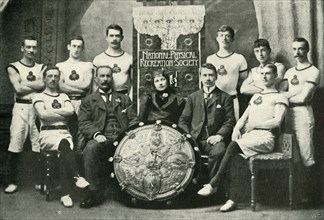The Team of Aberdeen Gymnasts, Winners of the N.P.R.S. Challenge Shield', 1902.