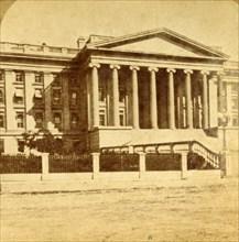Treasury Department, Washington, D.C.', c1880s.
