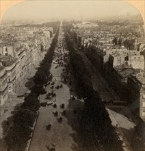 Champs Elysees, the Favorite Drive of Paris, France', 1894.