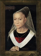 Portrait of Marie, daughter of Willem Moreel', 1480.