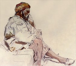 'Syrian Peasant Seated