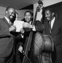 Junior Mance Trio, London, 1962.
