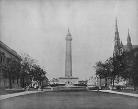 Washington Monument, Baltimore', c1897.