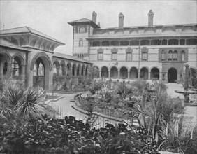Court of Ponce de Leon, St. Augustine, Florida', c1897.
