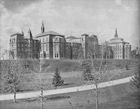 Wellesley College, Wellesley, Mass.', c1897.