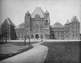 Parliament Buildings, Toronto, Canada', c1897.