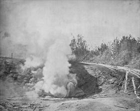 The Growler, Norris Geyser Basin, Yellowstone Park', c1897.