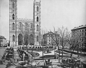 Place d'Armes, Montreal, Canada', c1897.