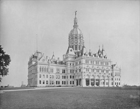 State Capitol, Hartford, Connecticut', c1897.