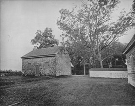 Quaker Meeting House, Battlefield of Princeton, New Jersey', c1897.