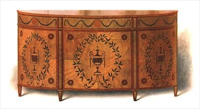 Satin-wood Commode, 1908.