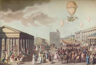 Fete Du Sacre Et Couronnement De Leurs Majetes Imperiales', 1804, (1920).