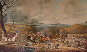 'The Chase of the Roebuck', 1834, (1936). Creators: Henry Thomas Alken, Richard Gilson Reeve.