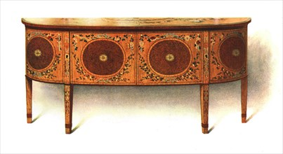 Painted Sideboard-commode, 1908.