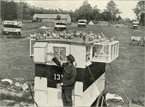 'British Army Carrier Pigeons in France