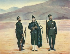 The Fifth Gurkhas', 1901.