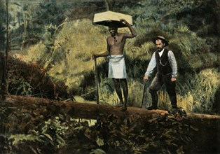 Kentzer (Chercheurs D'Or En Promenade)', (Prospecting for Gold), 1900.