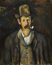 Man with a Pipe , ca 1892-1896.