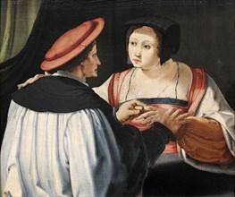 Les Fiancés (The Fiances), c. 1525.