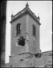St John's Church, High Street, Deritend, Birmingham, West Midlands, 1941