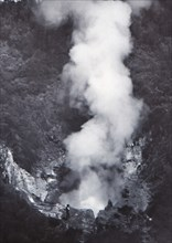 Great Wairakei Geyser', late 19th-early 20th century.