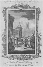 Queen Emma's Chastity tried by ordeal fire', 1773.
