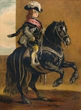 A Pupil of La Haute Ecole - Don Balthazar, Infante of Spain', c1640, (c1879.)