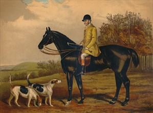 Jem. Morgan - Huntsman of the Berkeley Hunt', c1879.