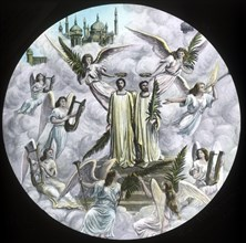 The Pilgrims crowned', c1910.