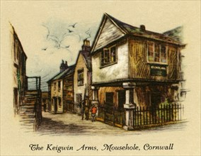 The Keigwin Arms, Mousehole, Cornwall', 1936.