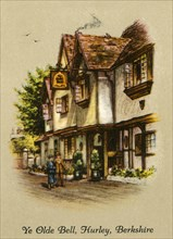 Ye Olde Bell, Hurley, Berkshire', 1936.