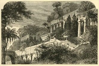 The Hanging Gardens of Ancient Babylon', 1890.