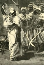 Bagaeus Delivering His Messages to the Persian Guard', 1890.